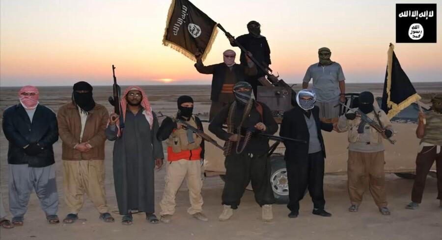 Islamisk Stat er særligt stærk, når det kommer til at sælge budskabet om eventyr, kammeratskab og »de godes« kamp mod det onde Vesten i forbindelse med terrororganisationens succesfulde rekrutering via nettet. En PR-indsats, som blandt andre Danmark ikke har gjort tilstrækkeligt til at modsvare, lyder det fra flere eksperter. Her er det IS-krigere, som i en propaganda-video fejrer en landvinding ved den irakiske by Tigrit.