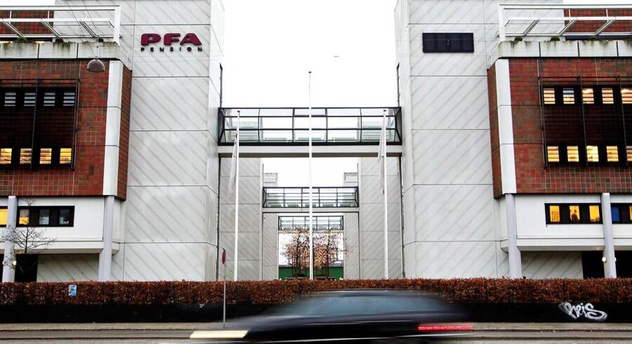 PFA bygningen Marina Park i København