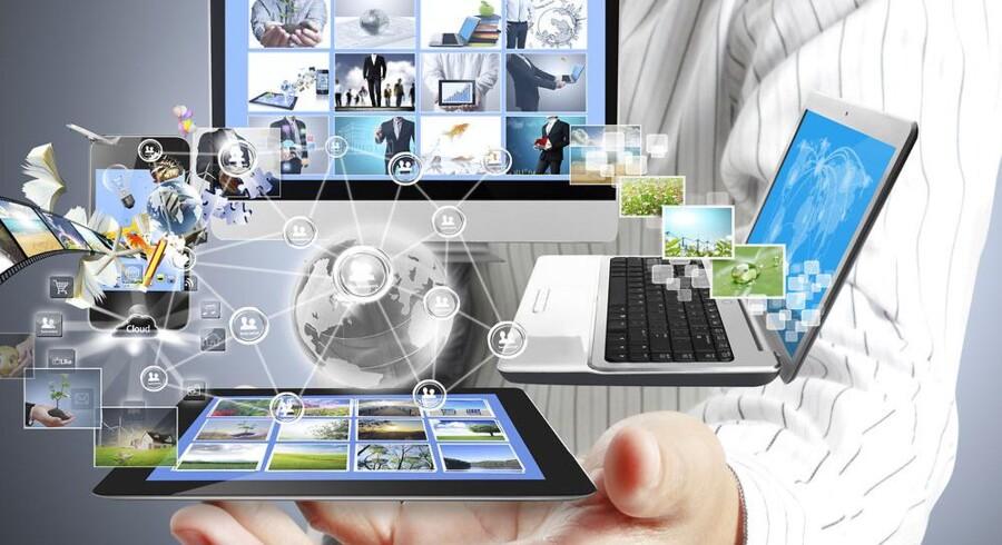Ligesom der er internetadgang fra efterhånden alle slags udstyr, skal der også være frit valg mellem de programmer, som man bruger for at komme på nettet - og det har Microsoft ikke levet op til, mener EU. Foto: Iris/Scanpix