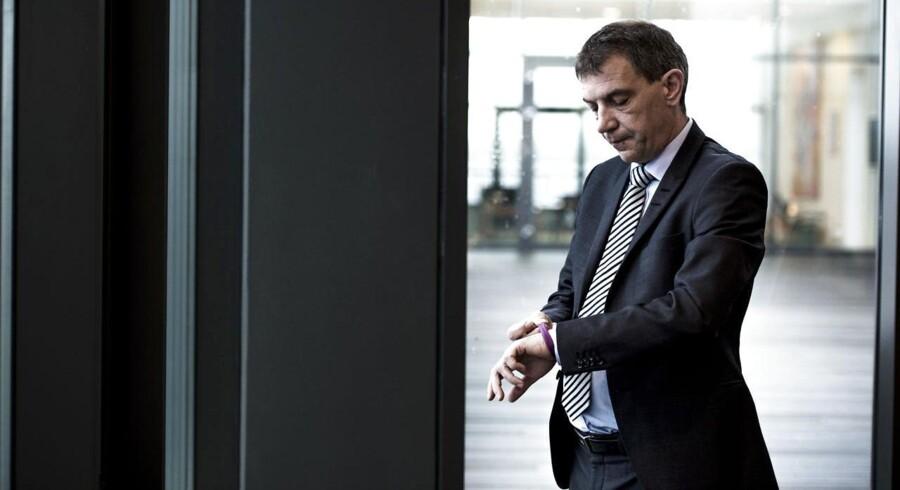Sparekassen Sjællands administrerende direktør, Lars Petersson.
