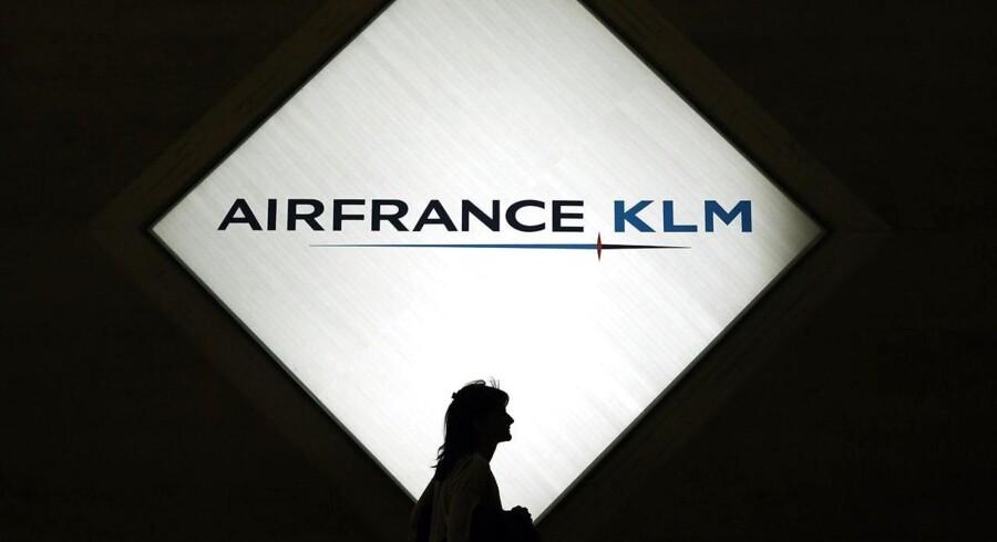 Det fransk-hollandske flyselskab Air France-KLM lettede sig over forventningerne i markedet med sine resultater for 2015, hvor både toplinjen og driften viste sig bedre end ventet blandt analytikerne. Arkivfoto.