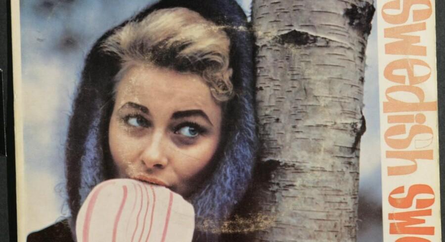 En af de to sjældne ep'er, som Ib Glindemann indspillede med Monica Zetterlund i 1958.