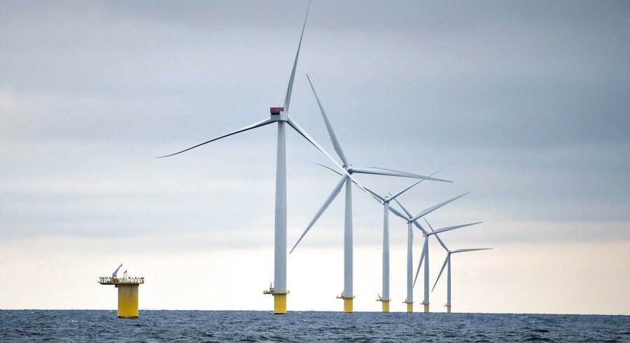 Med spansk-franske Adwen får Siemens og Vestas en ny vindmøllespiller at holde øje med. På billedet ses en tysk havvindmøllepark.