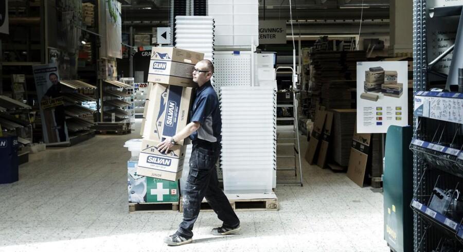 I et meget konkurrencepræget marked opfører Silvan et nyt byggemarked i Farum.