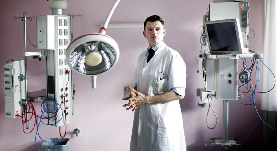 Patrick Hulsen stiftede et firma, der fremstiller elektronisk overvågningsudstyr til operationsstuer. Daintel var i 2012 nær fallittens rand, men skuden blev vendt.
