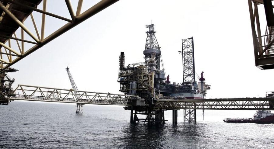 Stormen Bodil forhindrer Maersk Oil i at eksportere gas fra Nordsøen.