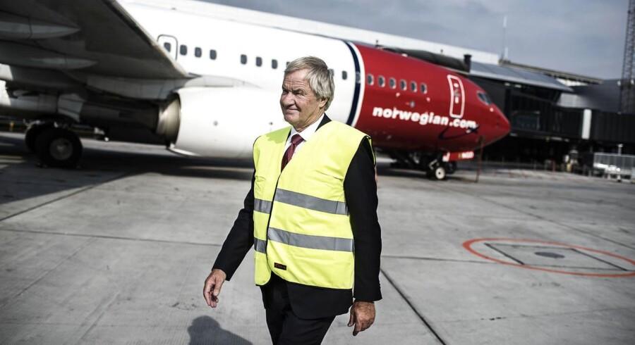 Norwegians adm. direktør Bjørn Kjos, fotograferet i Københavns Lufthavn.
