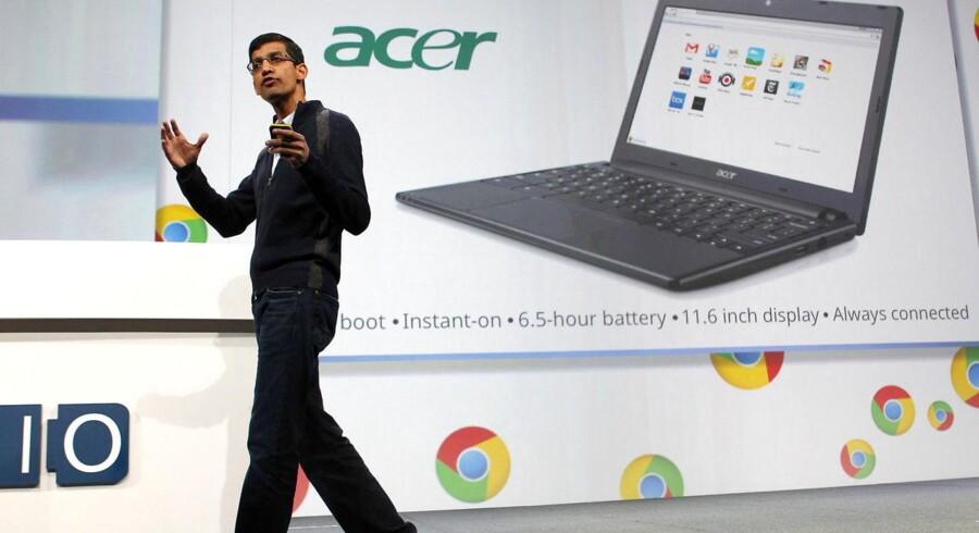 En af de første på vognen var Acer - men nu er udvalget noget større inden for Chromebooks. Bare ikke i Danmark.