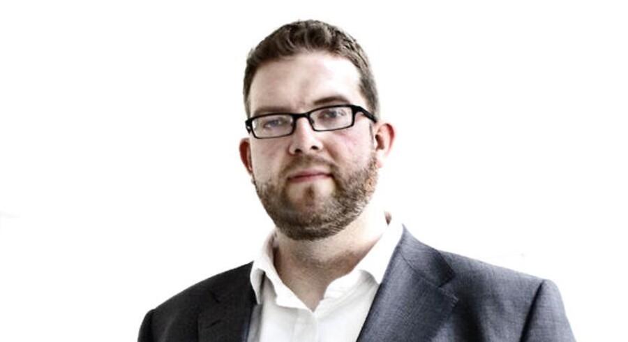 Christian Lanng, der har stiftet faktureringssystemet Tradeshift.