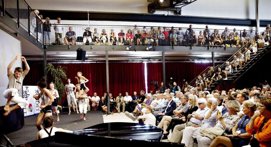 Black Box Dancers fra Holstebro åbnede Kulturmødet på Mors.