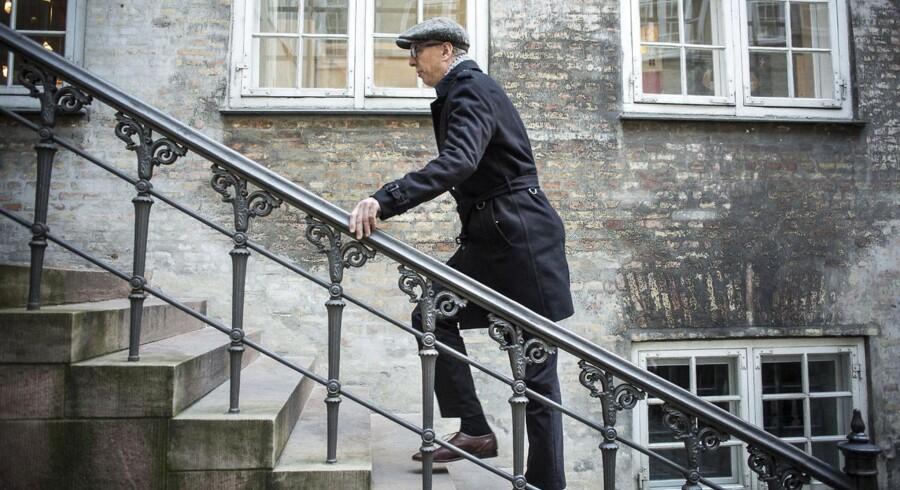 Arkivfoto: Alex Ahrendtsen fra Dansk Folkeparti på vej til møde i Kulturministeriet.