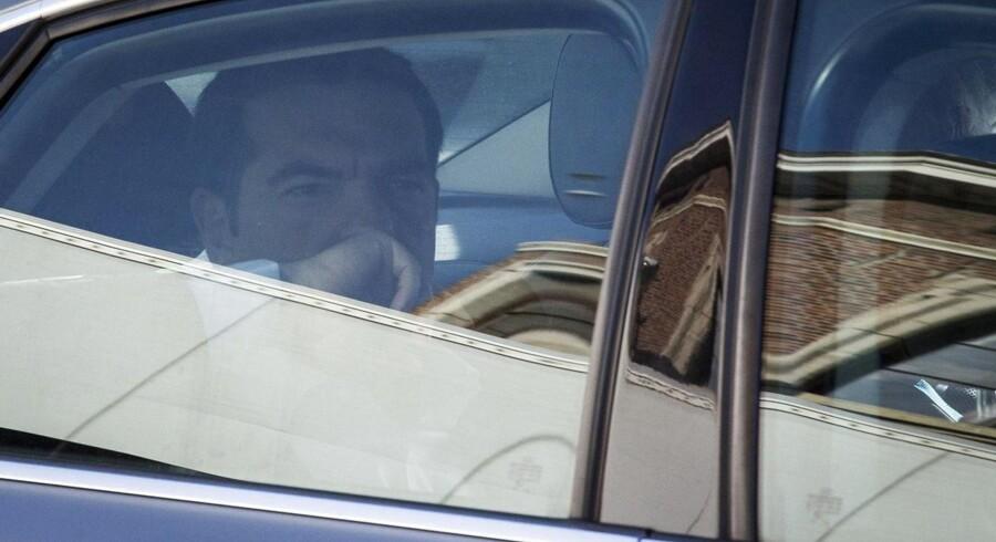 Endnu en skæbnens dag for den græske premierminister Alexis Tsipras.