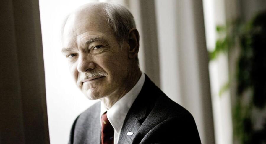 Jørgen Huno Rasmussen, formand for Tryg og TryghedsGruppen, bruger konkurrenten Topdanmark som et skrækeksempel for, hvad Tryg kunne risikere at ende som.