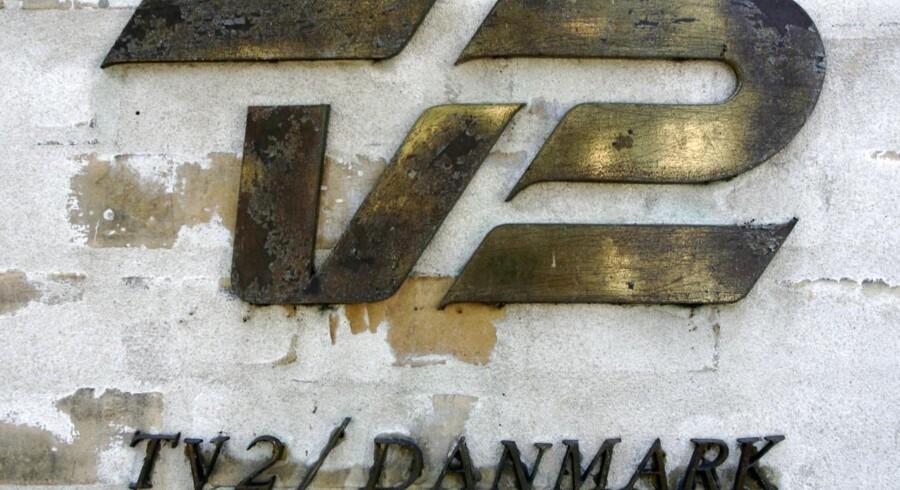 TV2 ´s logo. ARKIVFOTO