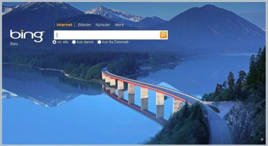 Microsofts nye, forenklede søgemaskine, Bing, har tilsyneladende været en god investering for IT-giganten.