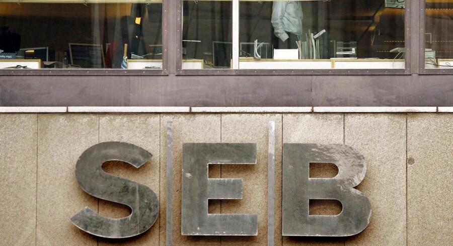 Arkivfoto: SEB kontor i Stockholm.