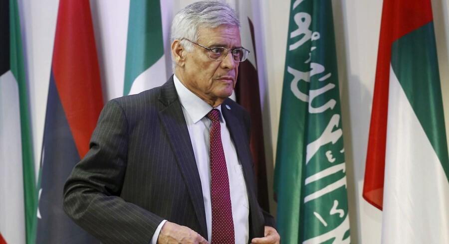 Opec-generalsekretær, Abdalla El-Badri. ARKIVFOTO.