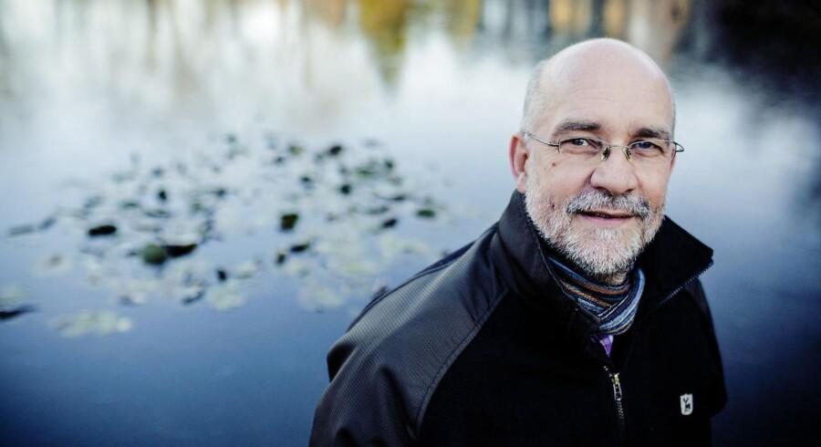Akademikernes formand Finn R. Larsen er ikke enig med DA i, hvor ressourcernes skal findes i landets virksomheder. Foto: Nikolai Linares, Scanpix.