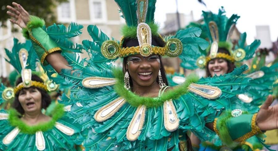 »Notting Hill Carnival«, Londons største gadefest.