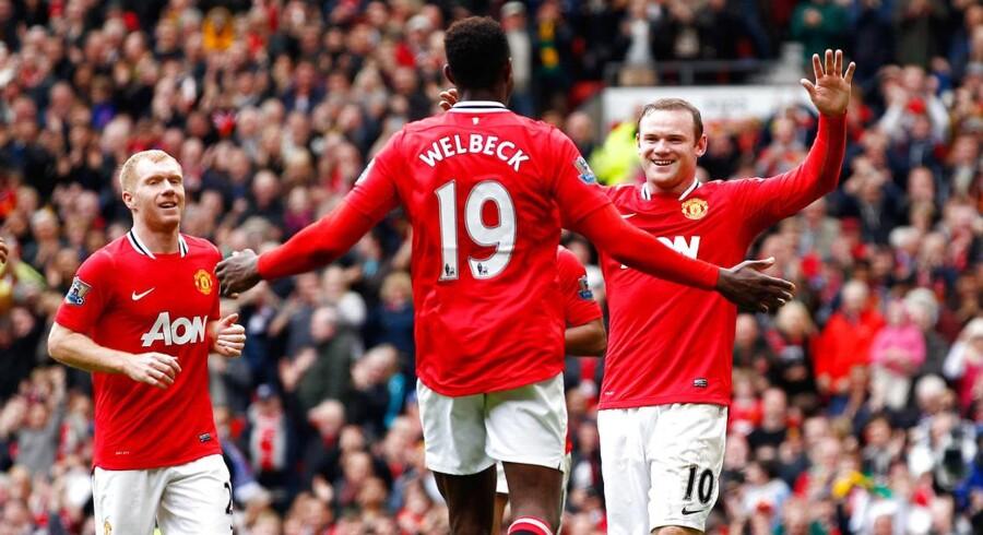 Manchester United er en af verdens mest populære fodboldklubber.