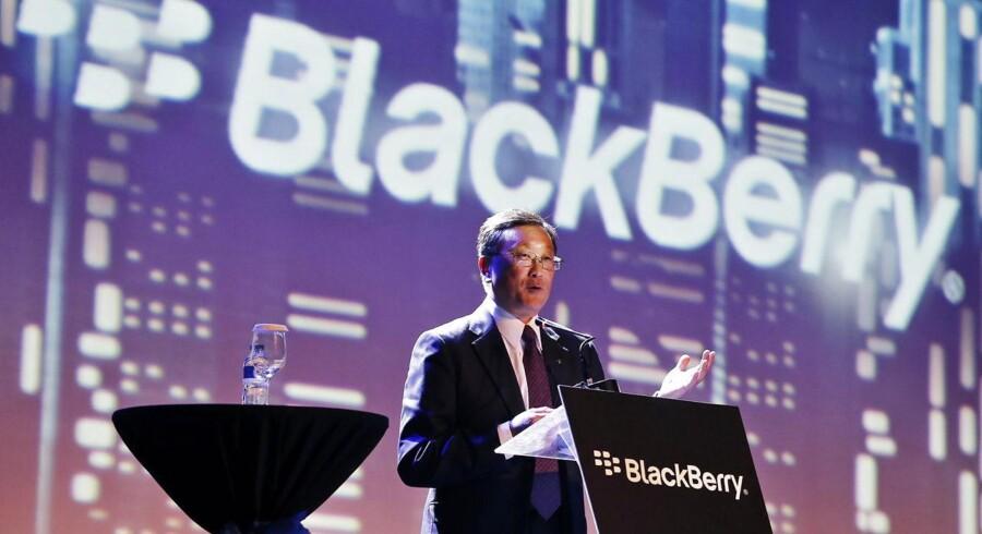 BlackBerrys topchef John Chen