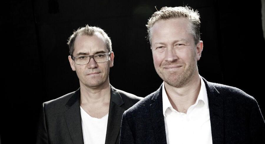 De to stiftere af Stylepit har haft både op- og nedture med virksomheden. Lige nu er aktien nede at blive handlet på 0,56 kr.