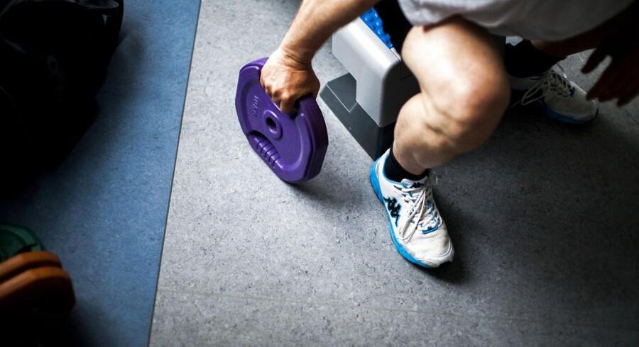 Senest til december skal fængslerne fjerne al udstyr til styrketræning - eller indføre en greencard-ordning, hvor de indsatte siger ja til at lade sig dopingteste. Arkivfoto: Kasper Palsnov