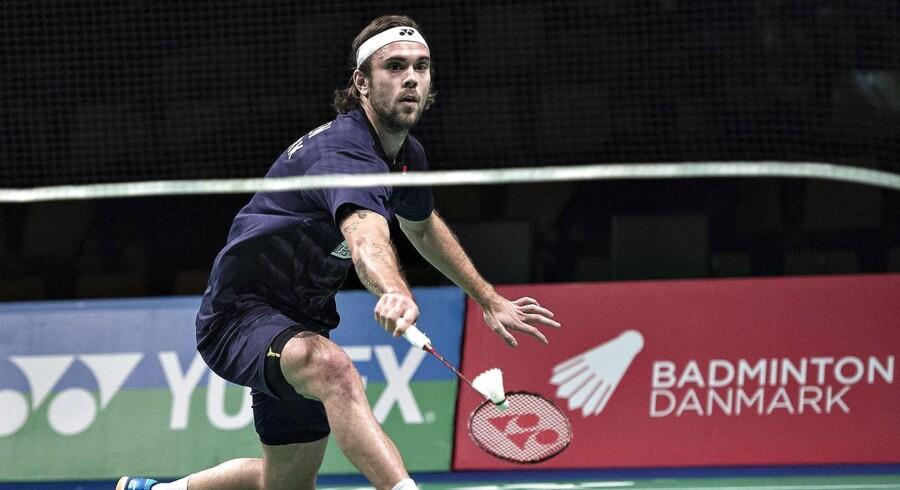 Arkivfoto. Hans-Kristian Vittinghus er ude af Australian Open, som han ellers vandt sidste år.