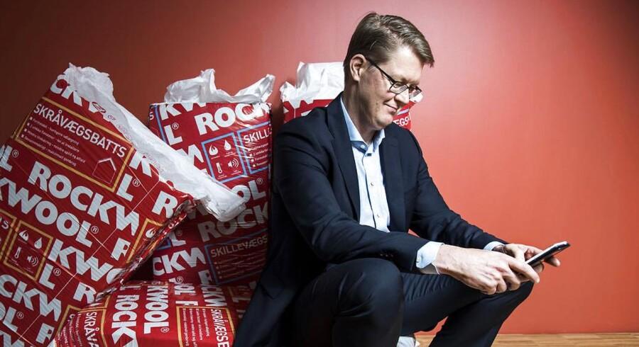 Rockwools adm. direktør Jens Birgersson