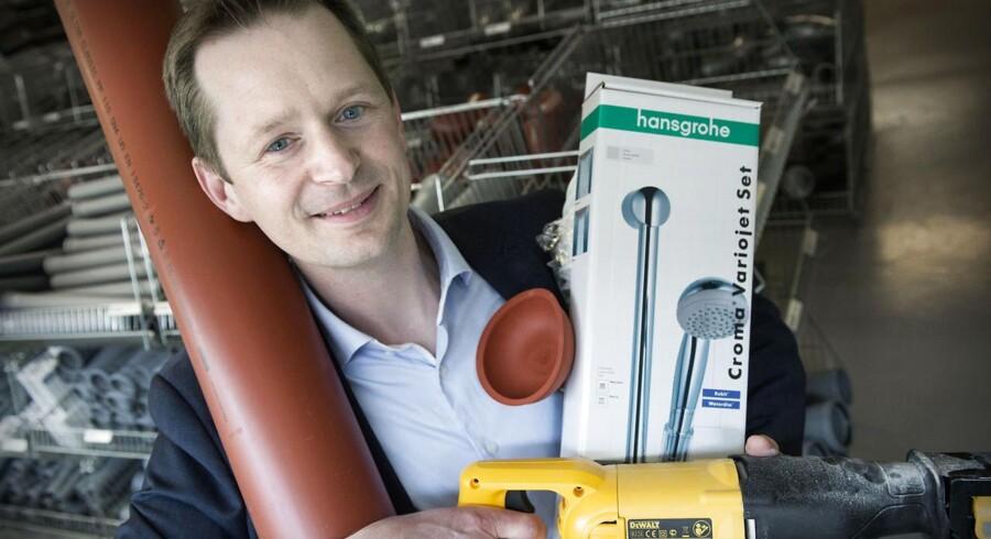 Christian Agger, marketingschef Brødrende Dahl, tog torsdag aften mod E-handelsprisen.