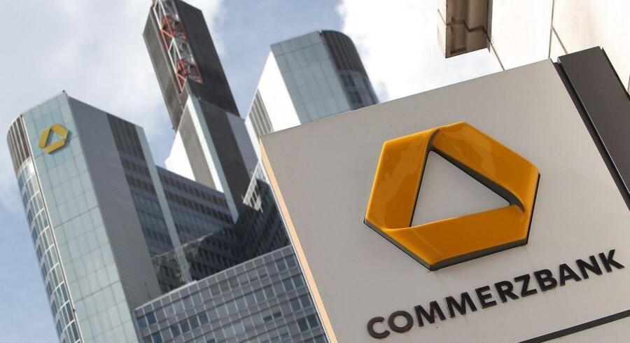 Den tyske storbank Commerzbank er i andet kvartal kommet ud med en bedre bundlinje, end det var ventet i markedet.