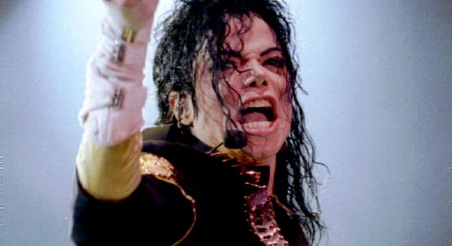 Kongen af pop - Michael Jackson - som hans fans formentlig vil huske ham.