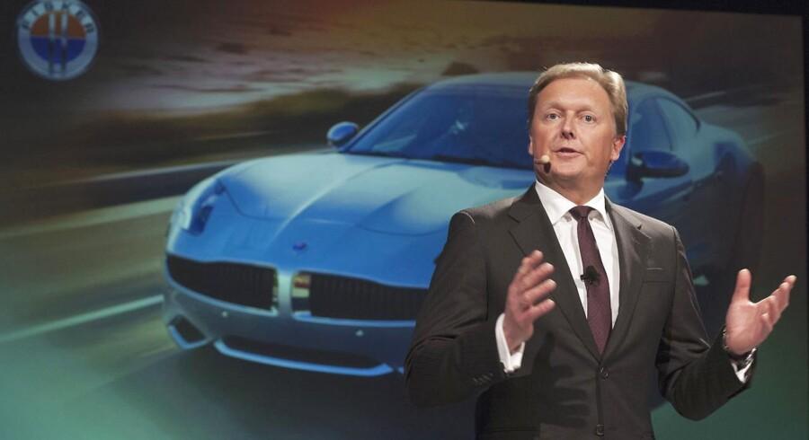 Danske Henrik Fisker er stifter af og chef i Fisker Automotive.