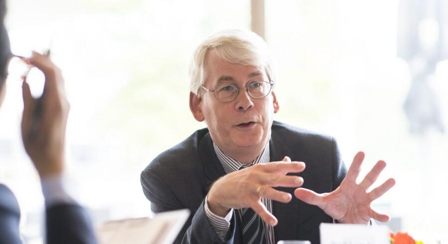 Henk Van Houten, Philips direktør for Forskning og Udvikling, har arbejdet i koncernen i 30 år.