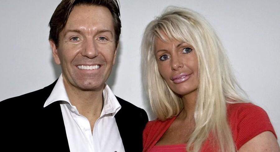 Parret Erik Damgaard og Anni Fønsby. Hans pengetank er begæret konkurs, hun er dømt for rufferi.