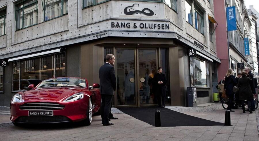 Billedet er fra Bang & Olufsens åbning af deres nye konceptstore på Østergade 18 i København K.