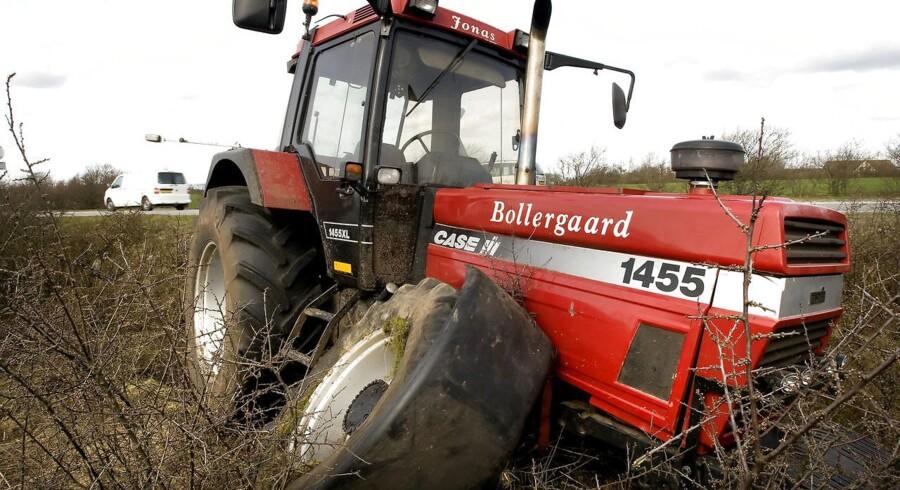 Arkivfoto. Det kriseramte landbrug tvinger en række banker til store afskrivninger.
