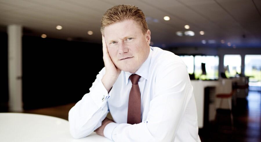 Novo Nordisks koncernfinansdirektør Jesper Brandgaard er bestyrelsesformand for Novo-selskabet NNIT, som skal på børsen inden for de kommende fire-fem uger. Foto: Erik Refner