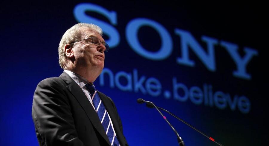 Sonys topchef, Howard Stringer, fjerner lederen af underholdningsdivisionen og går selv ned i løn. Arkivfoto: Danish Siddiqui, Reuters/Scanpix
