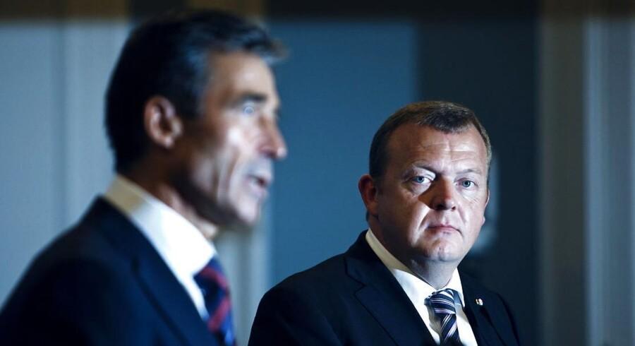 Anders Fogh Rasmussen og Lars Løkke Rasmussen skal begge vidne for den kommission, der skal undersøge statsløsesagen.