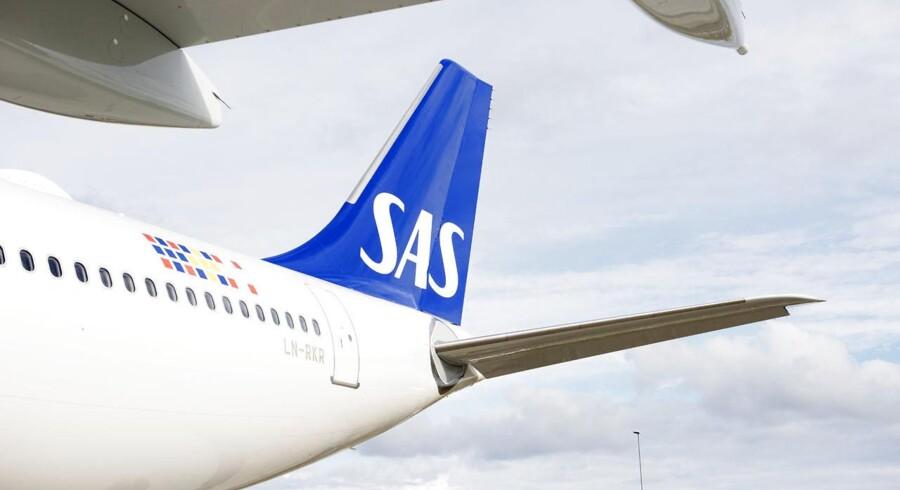 SAS viser deres nye Airbus A330 Enhanced-fly frem og chefpilot Thomas Lunding fortæller om, hvorfor SAS skal have det fly og hvilke muligheder det giver.
