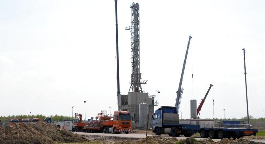 Her udvinder man skafergas ved Lebork i den nordlige del af Polen.