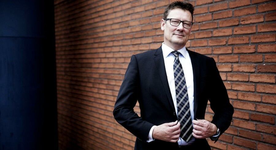 Thomas Mitchell, privatkundedirektør i Danske Bank, kan med et større kundefokus nu konstatere netto kundetilgang til banken.