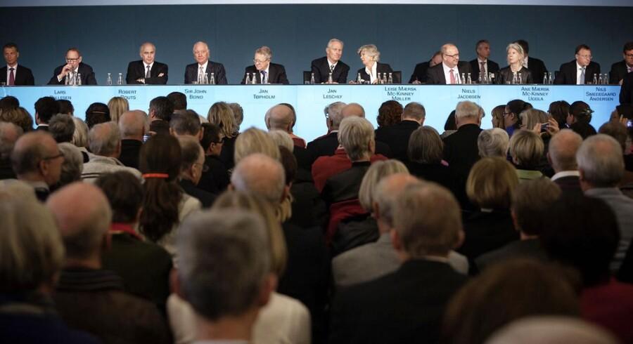 To ud af 12 medlemmer af bestyrelsen i A.P. Møller - Mærsk er kvinder, og de er begge efterkommere af stifteren.