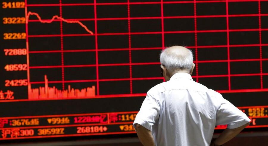 Det kinesiske marked er braget ned i kulkælderen de seneste uger. De kinesiske A-aktier har tabt over 30 pct. af deres værdi på blot 15 dage.