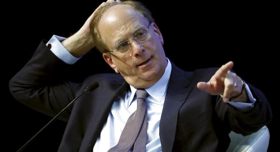 Larry Fink er topchef for verdens største hedgefond, Blackrock.