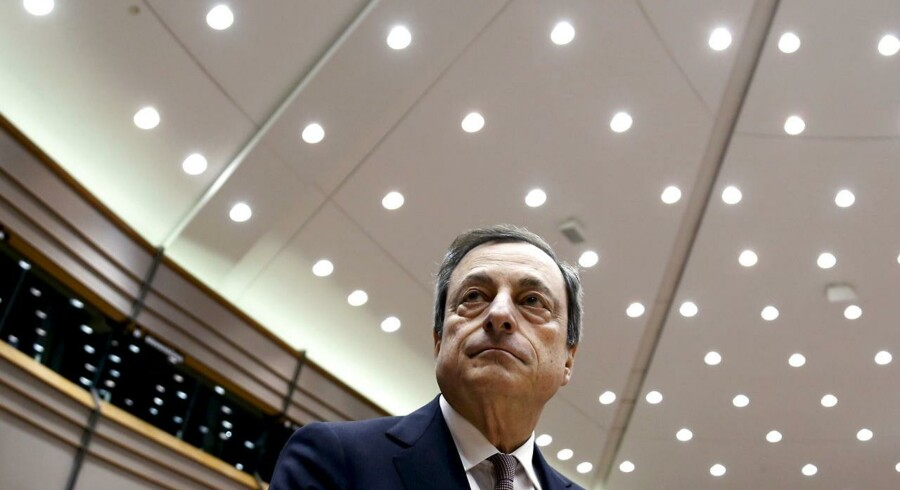 Den Europæiske Centralbanks (ECB) præsident, Mario Draghi. Arkivfoto.