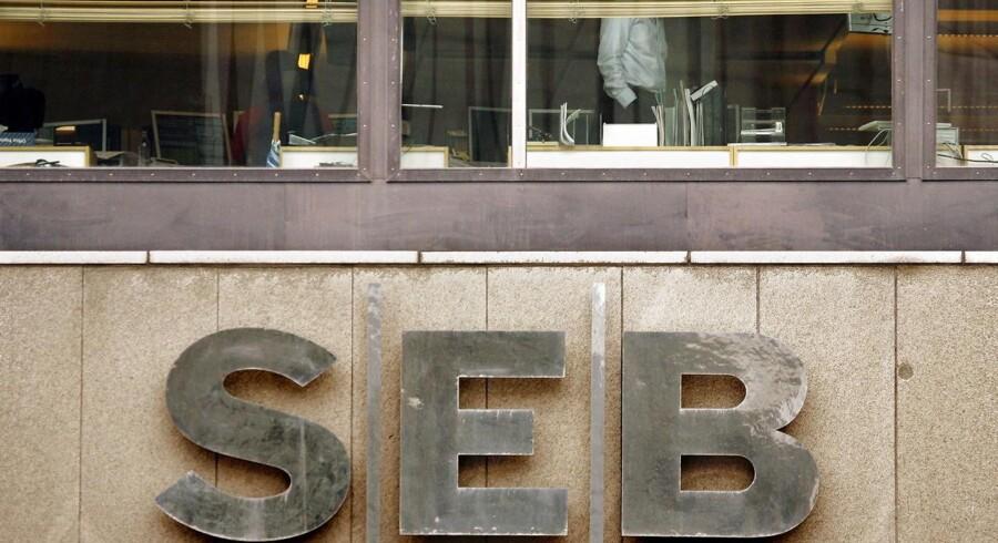 Arkivfoto: SEBs hovedkontor i Stokholm.