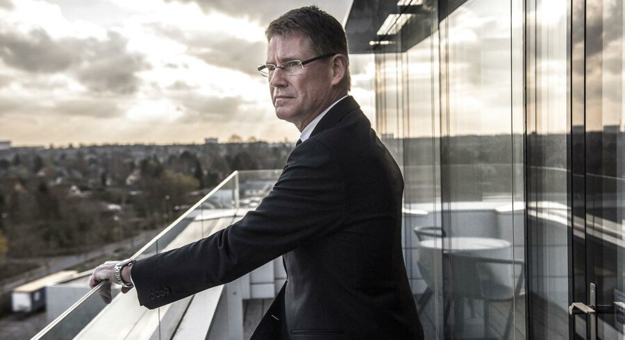 Lars Rebien Sørensen er et fyrtårn i dansk erhvervsliv, siger Carlsberg-formand Flemming Besenbacher, der har været i dialog med Rebien om en post i Carlsbergs bestyrelse gennem længere tid. ARKIVFOTO.