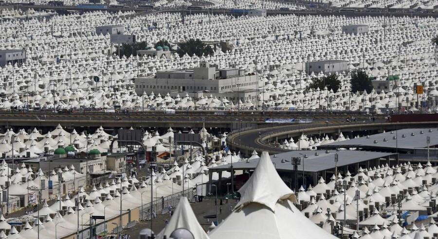 Over 700 pilgrimme er blevet mast ihjel i Saudi-Arabien under den årlige muslimske pilgrimsfærd mod Mekka.Episoden fandt sted i byen Mina, der ligger fem kilometer øst for den hellige by Mekka.Udsigt over byen Mina.